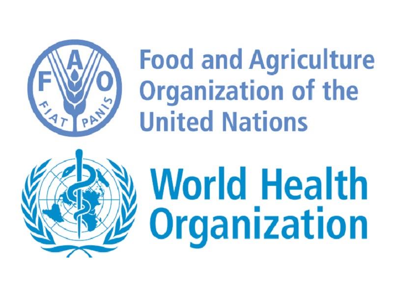 FAO e OMS logos