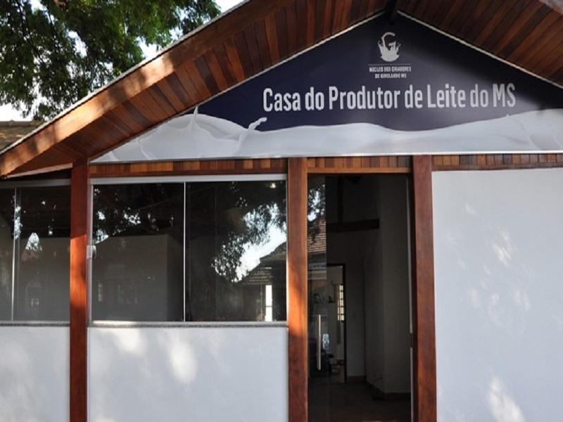 casa do produtor de leite ms