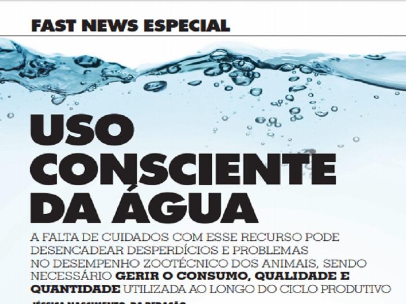 uso consciente da agua