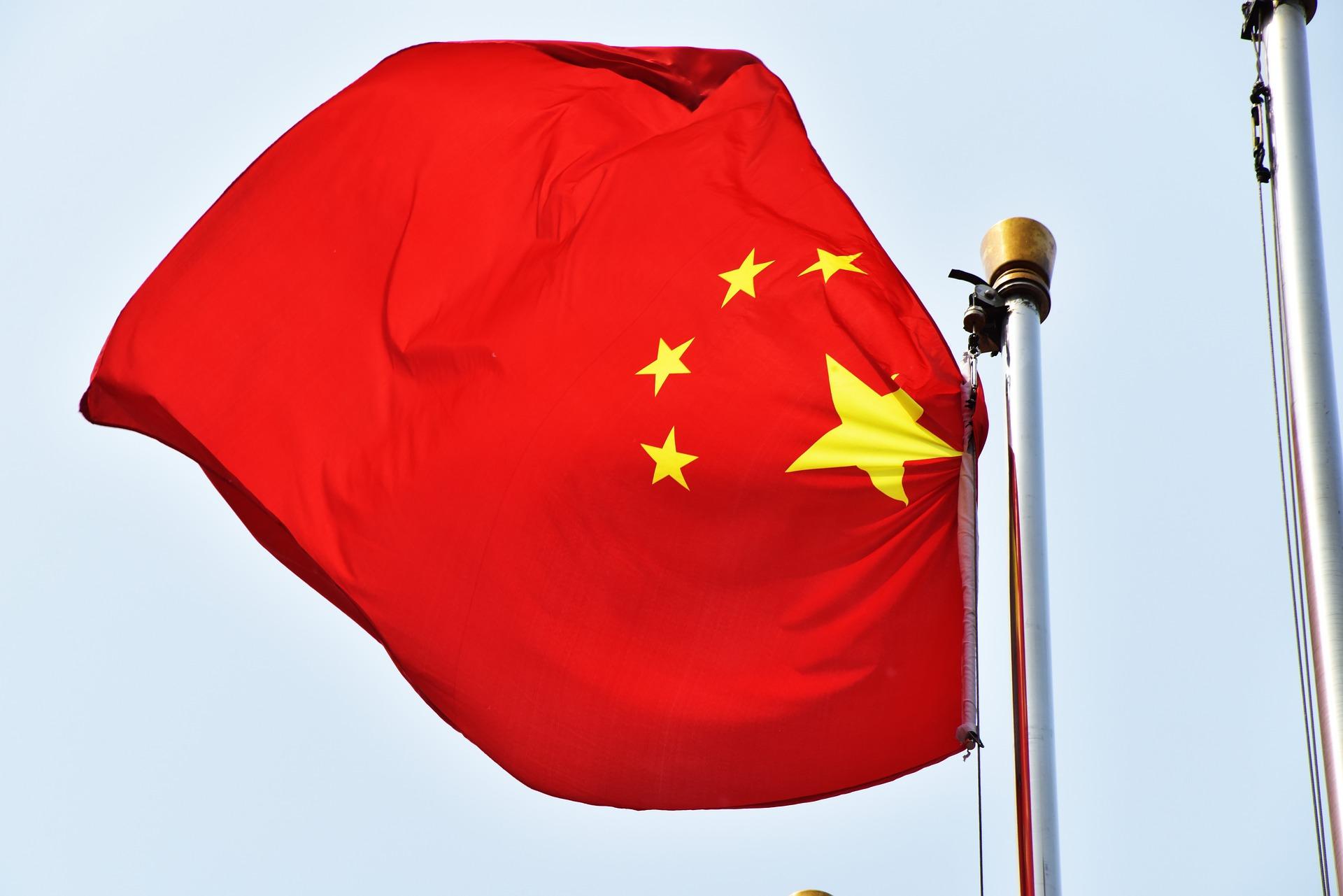 Bandeira China_Imagem de David Yu por Pixabay